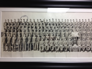 Steve's Dad with his squadron in 1943