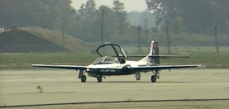 Cessna T-37 Tweet Demonstration