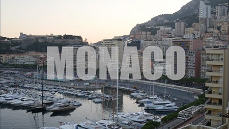Monaco Timelapse & Bird's Eye View Video Production